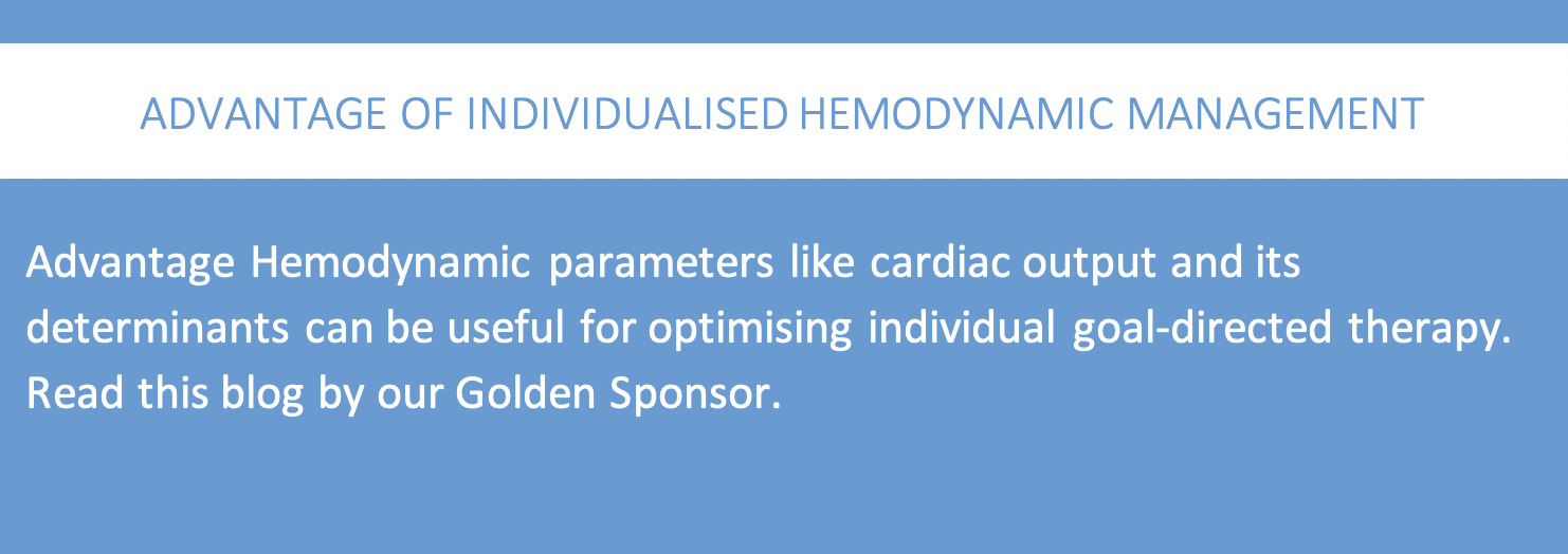 Advantages of individualised hemodynamic management