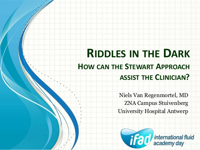 Riddles in the Dark How can the Stewart Approach assist the Clinician?
