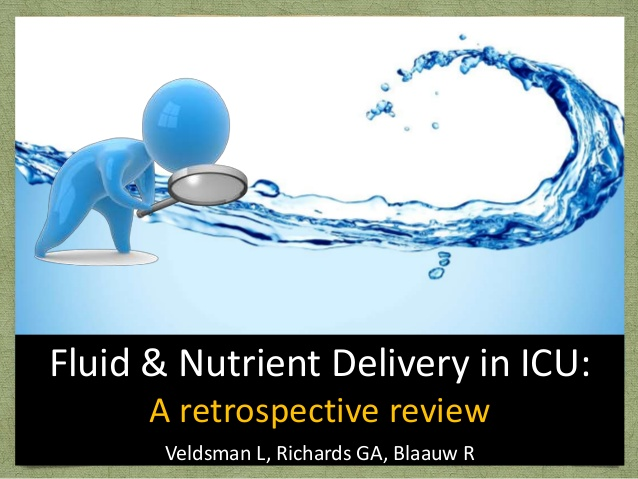 Fluid & Nutrient Delivery in ICU: A retrospective review