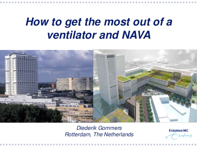 How to get the most out of a ventilator and NAVA