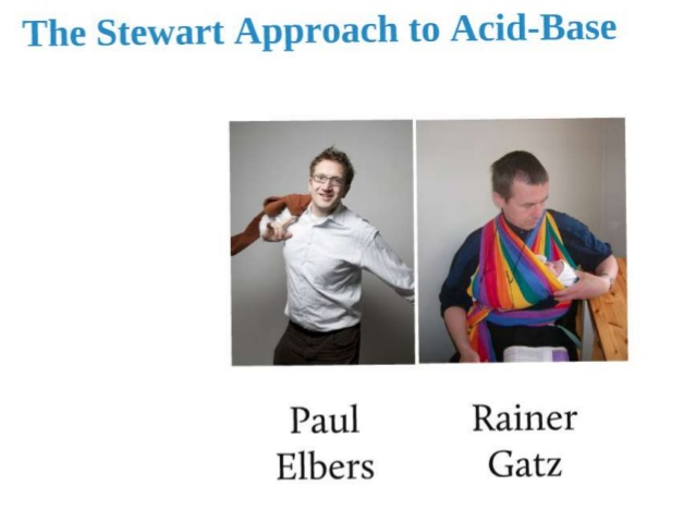 The stewart approach to acid-base