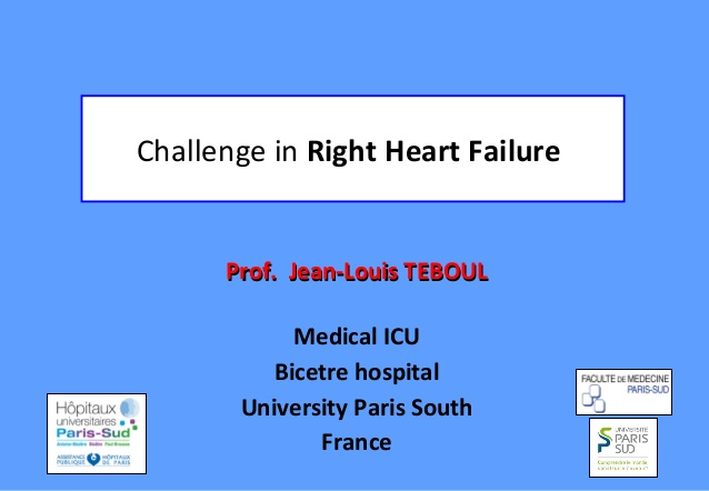 Challenge in Right Heart Failure