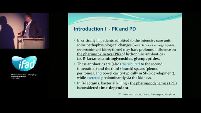 Pharmacokinetic pharmacodynamic target