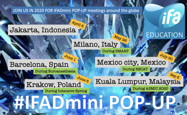 Join us for different #iFADmini pop-up meetings in 2020