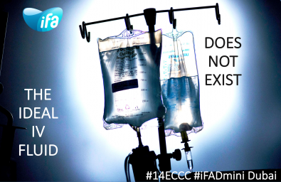 What is the ideal IV fluid? (#iFADmini #IFAD2018)