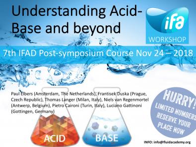 1st Acid-Base course