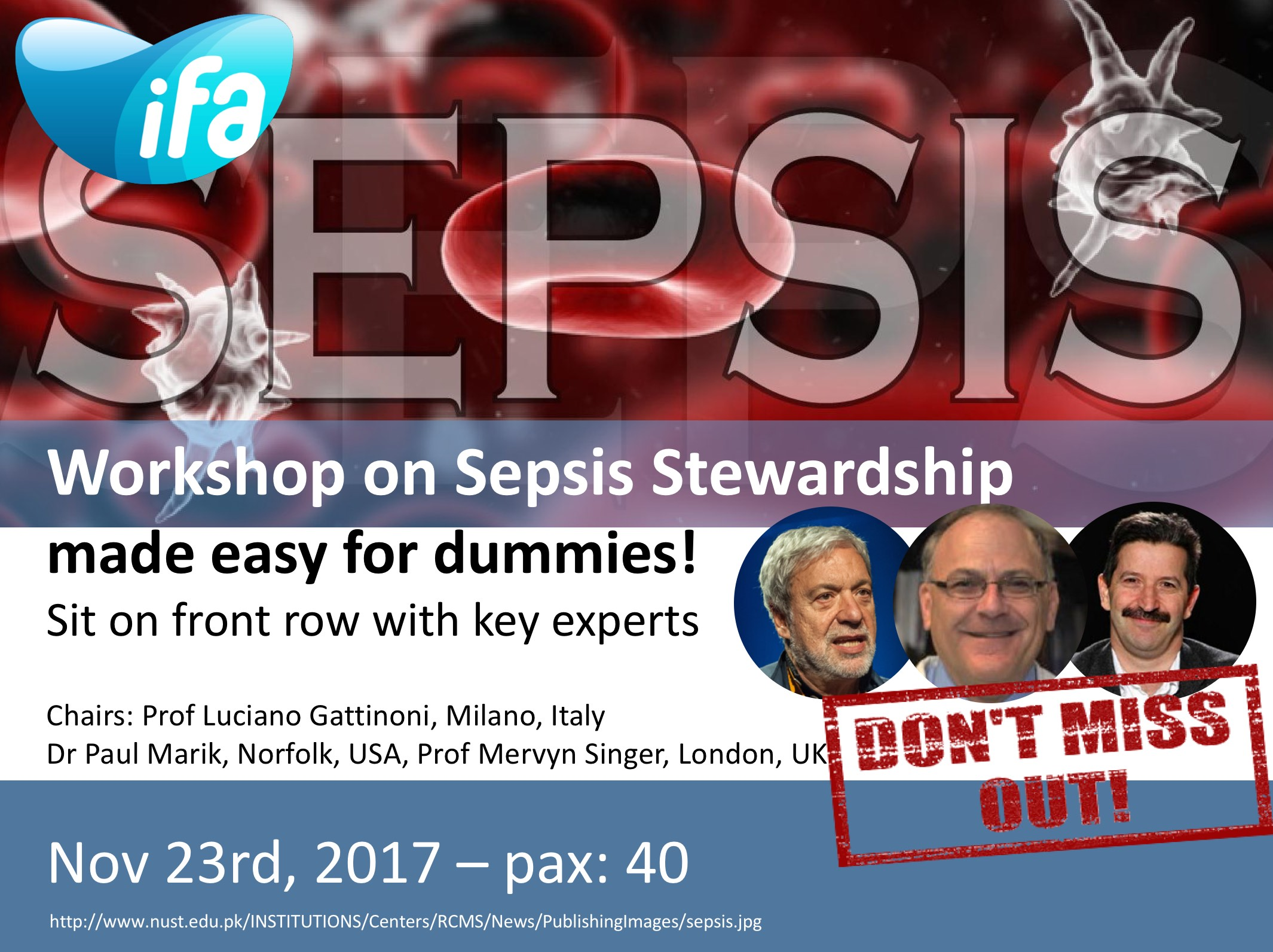 Workshop on Sepsis Stewardship