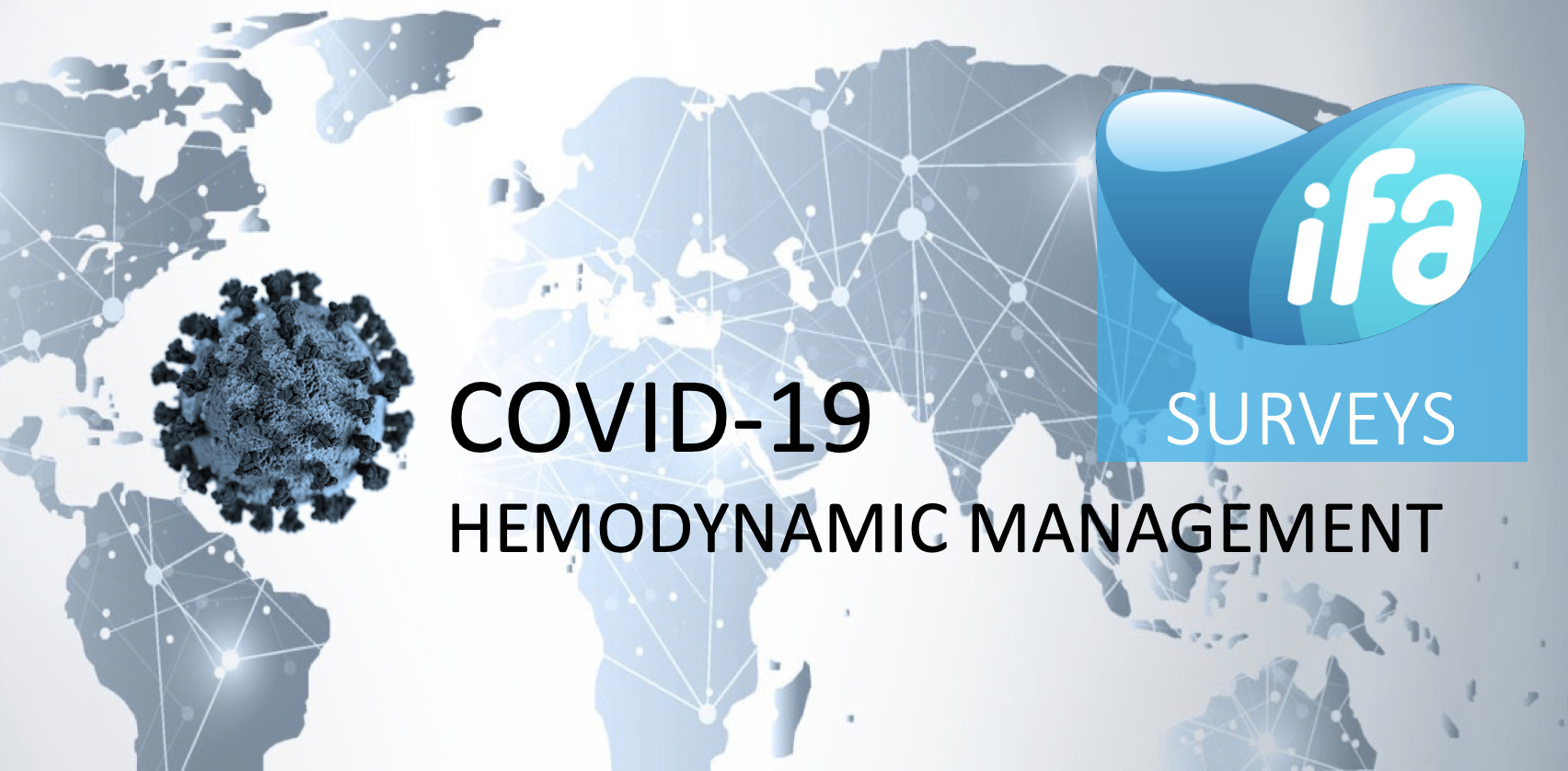 Fill in #COVID19 survey on Hemodynamic Monitoring