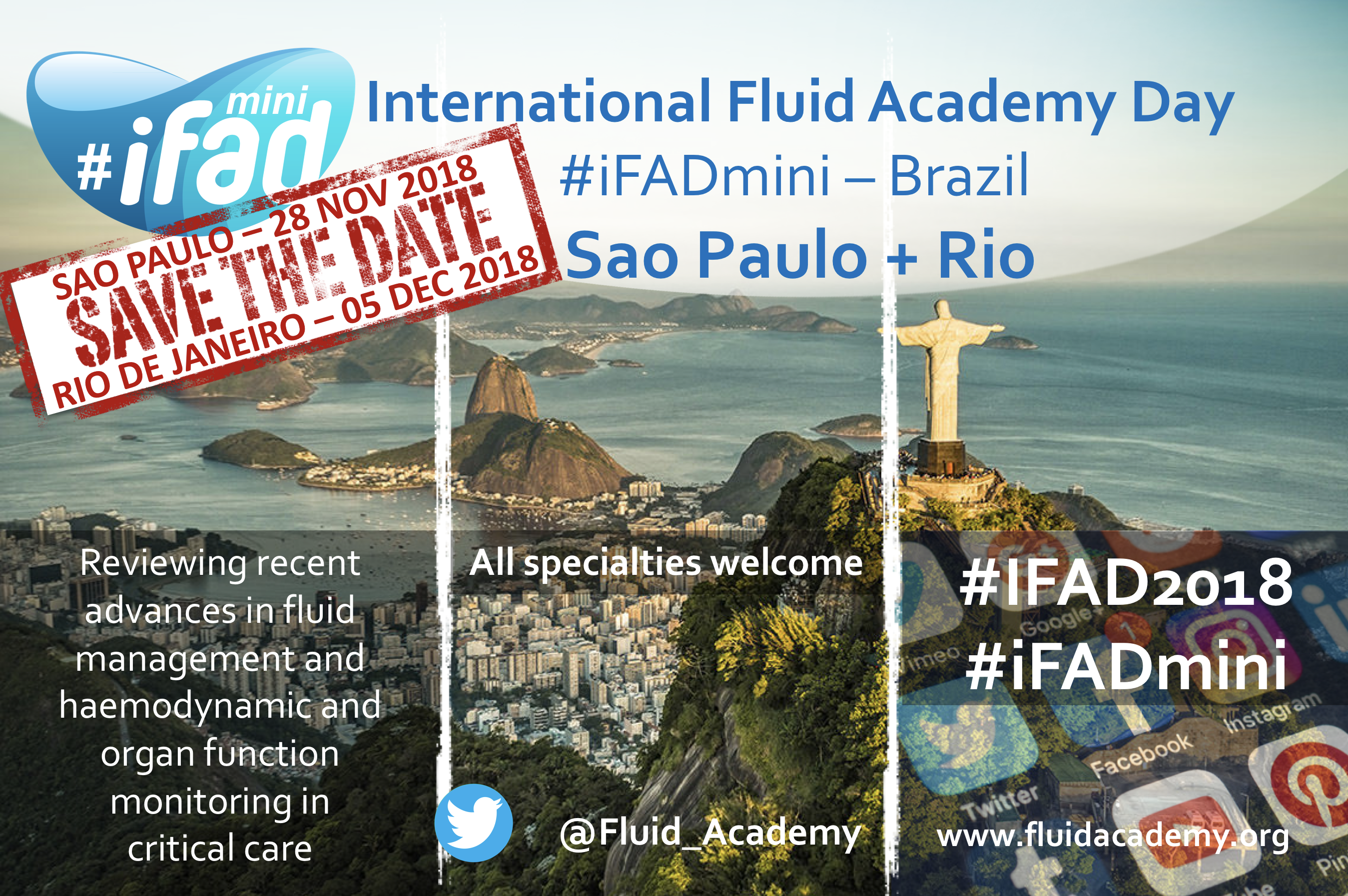 #iFADmini in Brazil (SP and Rio)