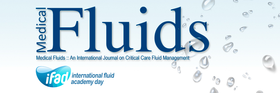 It is time to pay attention to fluid management: A warm welcome to the 3rd International Fluid Academy Days