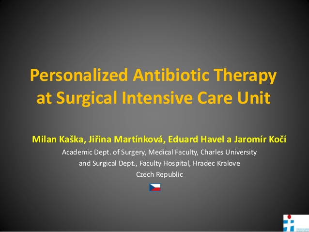 Personalized Antibiotic Therapy at Surgical Intensive Care Unit