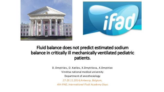 Fluid balance does not predict estimated sodium balance in critically ill mechanically ventilated pediatric patients.