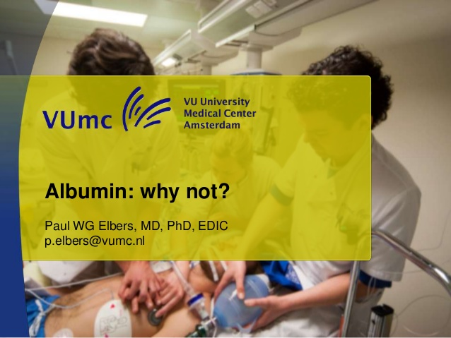 Albumin: why not