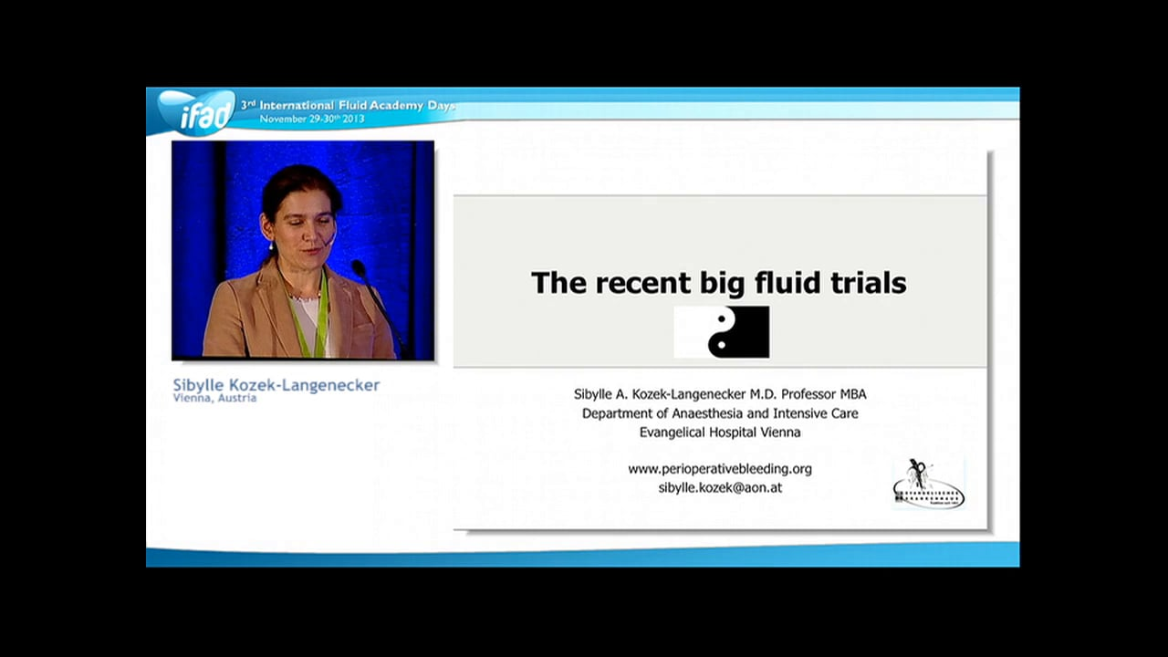 Sibylle Kozek Langenecker - Fluid Trials