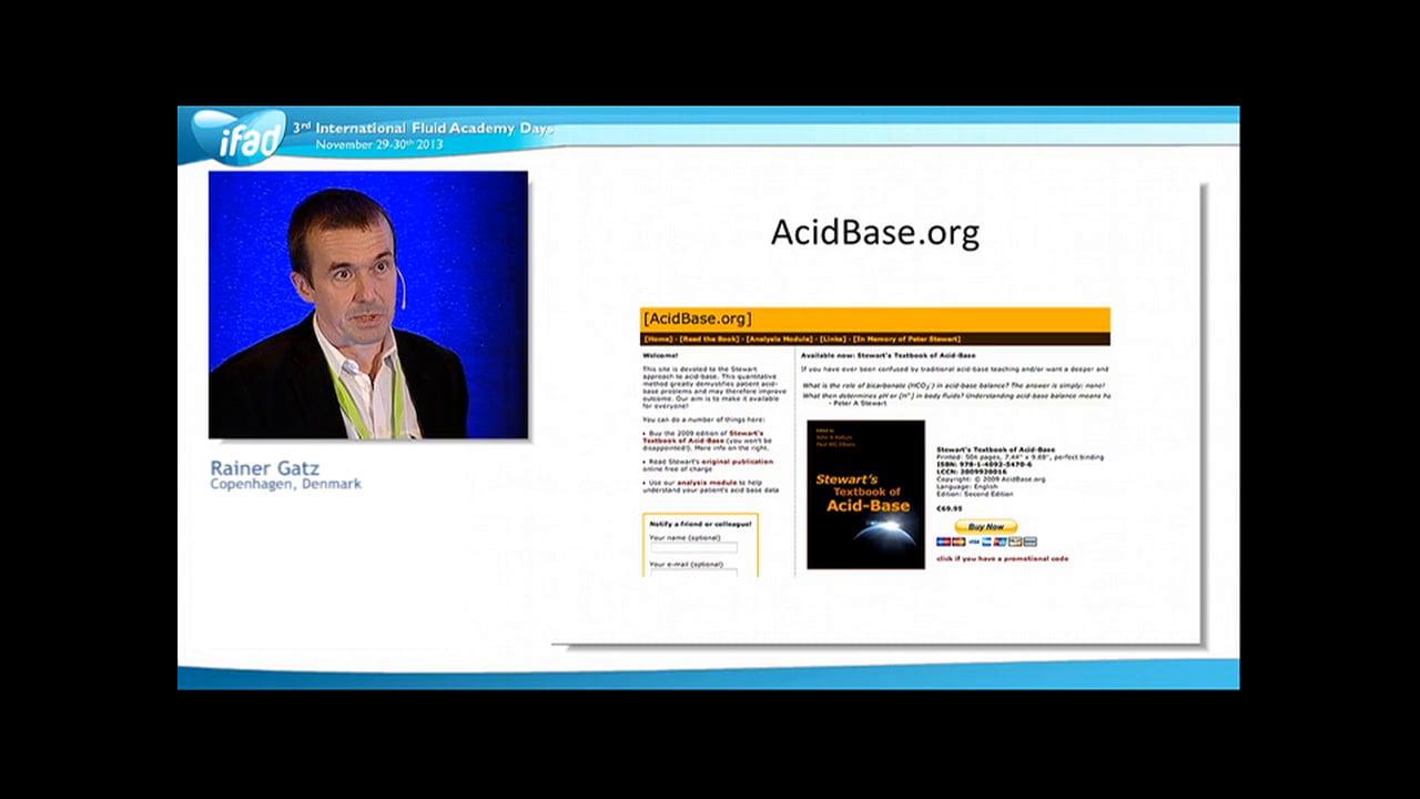Rainer Gatz - Tutorial Acid Base