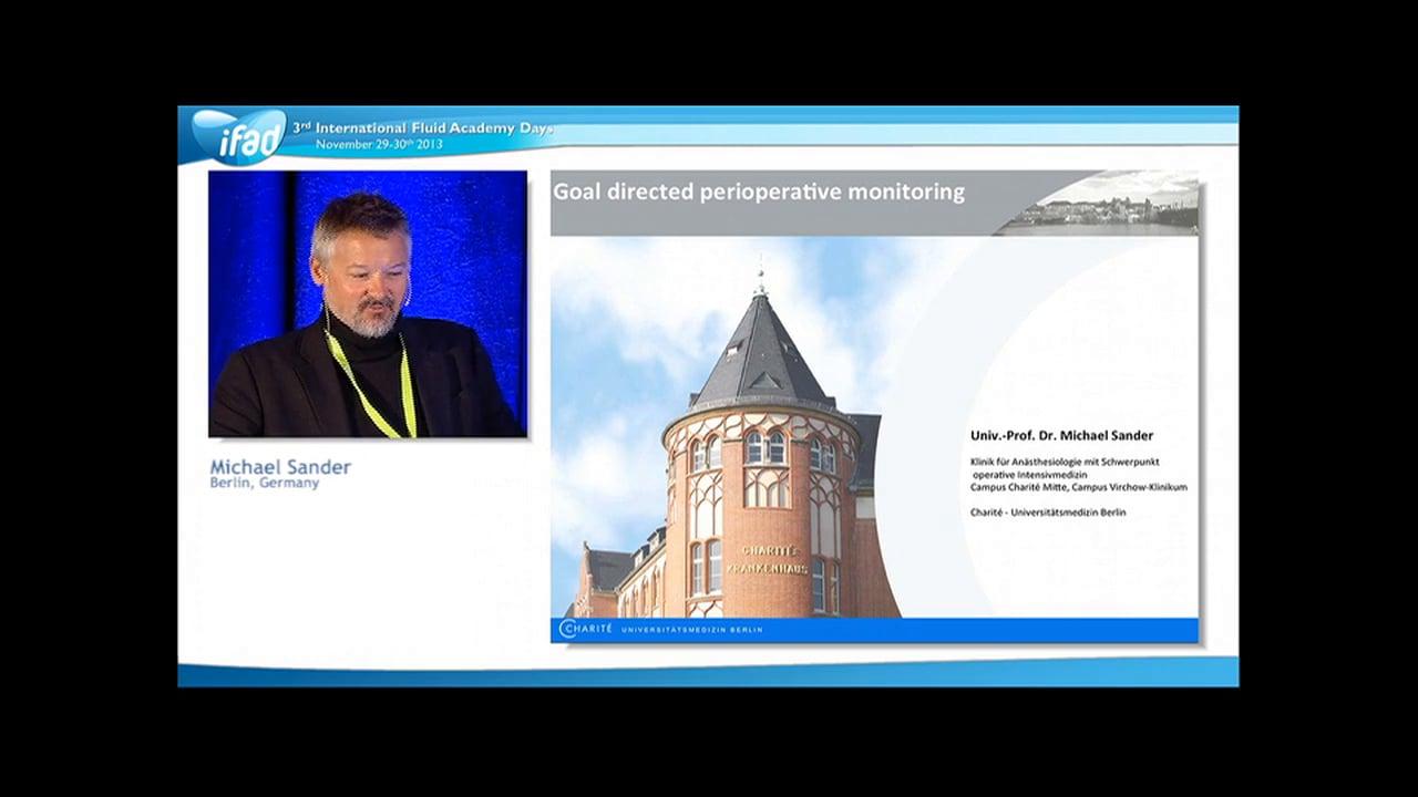 Michael Sander - Perioperative Fluid Management