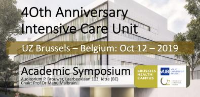40th Anniversary ICU Meeting